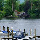 Derwent Island Boathouse by Tom Gomez