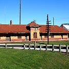 MKT Railroad Frieght Station, Waxahachie, Texas by Charles Buchanan