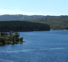 Myponga Reservoir (upper side) by ScenerybyDesign