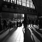 Flinders Street morning crowd by Andrew Wilson