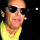 Jack Nicholson by Jonathan  Green