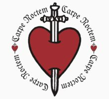 Carpe Noctem Heart & Dagger by Zehda
