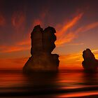 Time Lords - Gibson Steps Port Campbell N.P. by Mark Shean