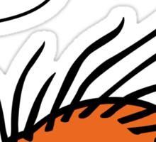 Angry Hedgehog Sticker