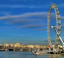The London Eye by Adri  Padmos