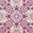 Iridium Atoms Purple White by atomicshop