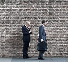 City gents by Alastair Humphreys