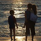 Sharing a sunset by Michelle *