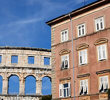 Roman Amphitheater in Pula (Croatia)  by Petr Svarc