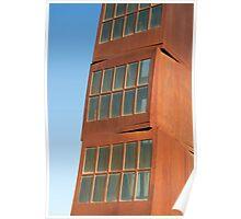 Homenatge a la Barceloneta Sculpture, Barcelona (Spain) Poster