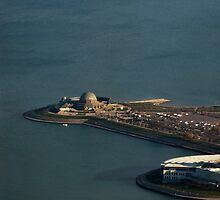 Adler Planetarium and the Shedd Aquarium by Jarede Schmetterer