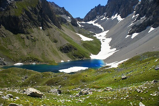 Apsoi's lake - Val Maira - Cn - Italy- July 09 by Bru66