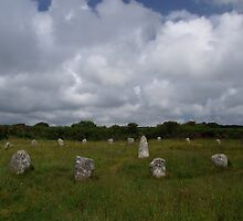 Boscawen-Un Stone Circle by Neil Cox