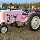 Pink John Deere by Prismcrow