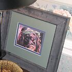 Framed Print of Jesus by JeffeeArt4u