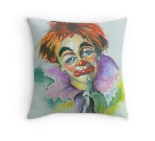 Blue Eyes - A Part of My Soul Throw Pillow