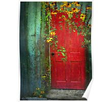 Behind The Red Door Poster