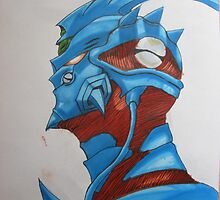 Guyver by scribbletits