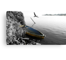 """That Sinking Feeling"" Cormorant Canvas Print"