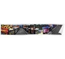 Hosier Lane Panorama 01 Poster
