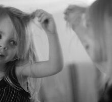 Girl in Mirror by CDNPhoto