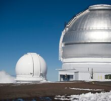 Gemini North Telescope, Mauna Kea by Mark Prior