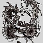 Dragon Death by cjsheena