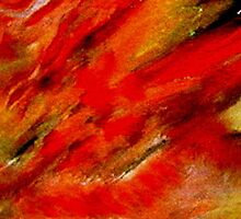ABSTRACT-SIMPLY RED 2                                acrylic by Sherri     Nicholas