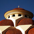 Saint George church in Larnaca by Elly Rousou