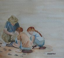 The Pumice Seekers II by JennyArmitage
