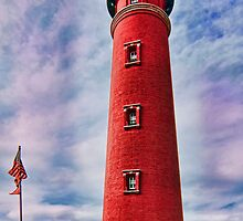 Lighthouse at Ponce Inlet by Michael Wolf