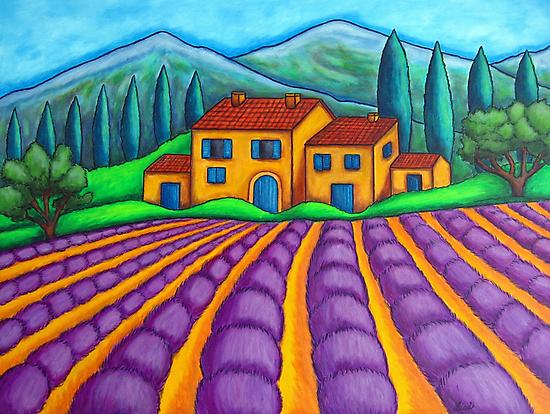 Les Couleurs de Provence by LisaLorenz