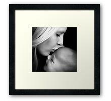 Mama's Kisses Framed Print