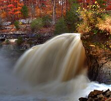 Cataract Falls - Autumn #3 by Jeff VanDyke