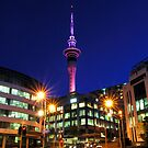 Sky Tower - Auckland NZ by Bill Fonseca