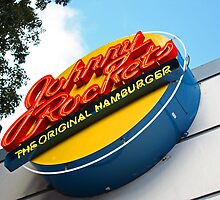 Johnny Rockets Restaurant  by longaray2