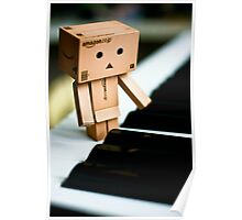 Danbo - Little pianist Poster