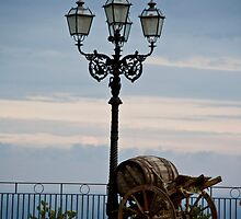Taormina Piazza by phil decocco