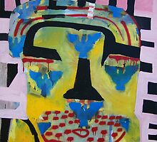 Blue angels(self portait 09) by Roy B Wilkins