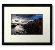 At The Giant's Causeway Framed Print