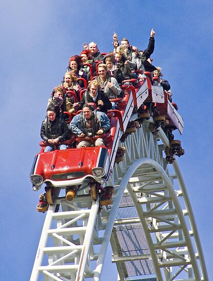 Stealth On Top - Thorpe Park by Colin J Williams Photography