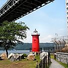 Little Red Lighthouse by Lawrence Henderson
