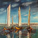 Regata dos Moliceiros  Ria de Aveiro &lt;Portugal&gt; by josevictor