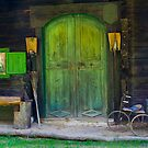 Green Door by Christine Wilson