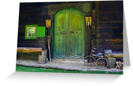 Green Door by Christine Wilson
