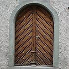 Antique Door, Rapperswill, Switzerland by Jaee Pathak