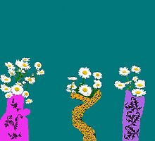 Crazy Daisey's by Linda Miller Gesualdo