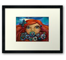 Love is the Flower You've Got to Let Grow Framed Print