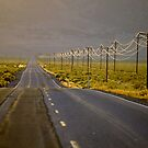 High Desert Highway by Allan  Erickson