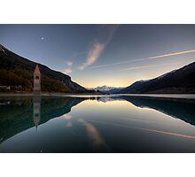Panoramic Mirror Photographic Print